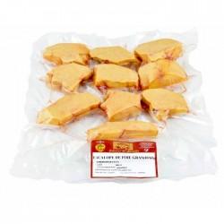 Escalopes de Foie de pato al vacio, 500 gr.