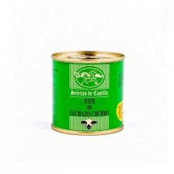 Pate von lamm, milchlamm und ente. 95 g